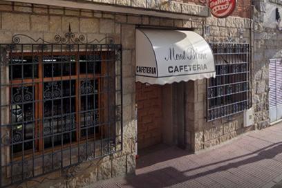 Cafetería Montblanc